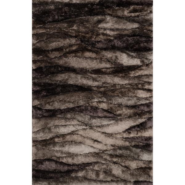 Hand-woven Perseus Peppercorn Rug - 7'10 x 11'