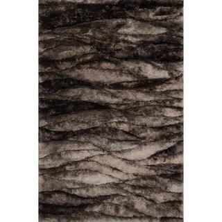 Hand-woven Perseus Peppercorn Rug (7'10 x 11'0)