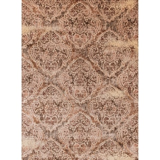 Contessa Tobacco/ Antique Ivory Rug (9'6 x 13')