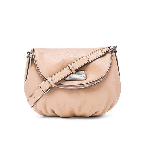 f428564f1ac5 Shop MARC by Marc Jacobs Pearl Blush Leather New Q Natasha Crossbody ...