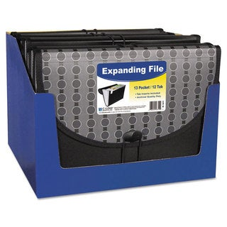 13-pocket Expanding File with Closure