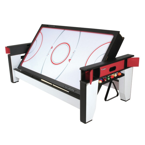 Atomic 7-foot Length Billiard and Air Hockey 2-in-1 Flip Table/ G05214W