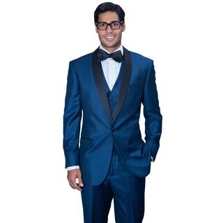 Men's Wynn Indigo 3-piece Statement Tuxedo (More options available)
