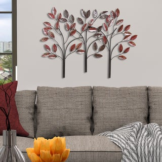 Stratton Home Decor Ombre Trees Wall Decor