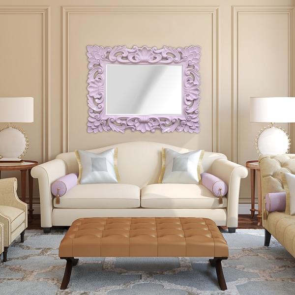 Stratton Home Decor Baroque Wall Mirror : Stratton home decor elegant ornate wall mirror free