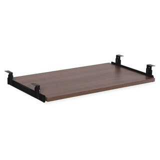 Lorell Essential Series Walnut Keyboard Tray