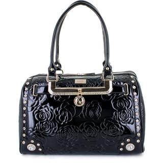 Lany 'LA Vie En Rose' Boston Satchel Handbag
