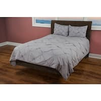 Rizzy Home Carrington Silver Quilt