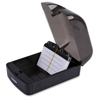 Lorell Desktop Rotary Card File - (1/Each)