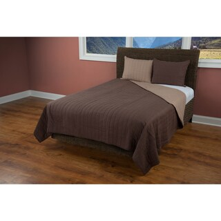 Rizzy Home Gracie Brown Quilt (3 options available)