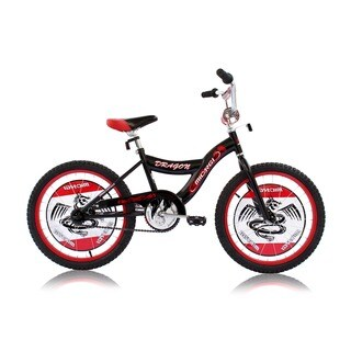 Micargi Dragon Black 20-inch BMX Bicycle