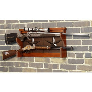 Lone Star 2 Gun Wall Rack