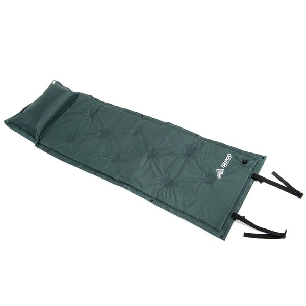 Semoo 190T Polyester Water Repellent Inflatable Camping Sleeping Mat