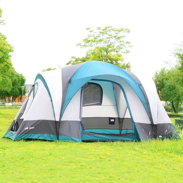 Shop Semoo 7-Person 3-Room Family Tent with Large D-Style ...