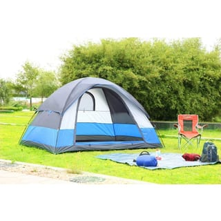 Semoo Waterproof 5-Person Camping/ Hiking Dome Tent (95 inches x 118 inches x 71 inches)|https://ak1.ostkcdn.com/images/products/11113270/P18115955.jpg?impolicy=medium