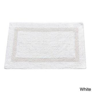Cotton 21x34 Reversible Bathroom Rug