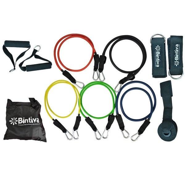 Bintiva 10-piece Resistance Band Set