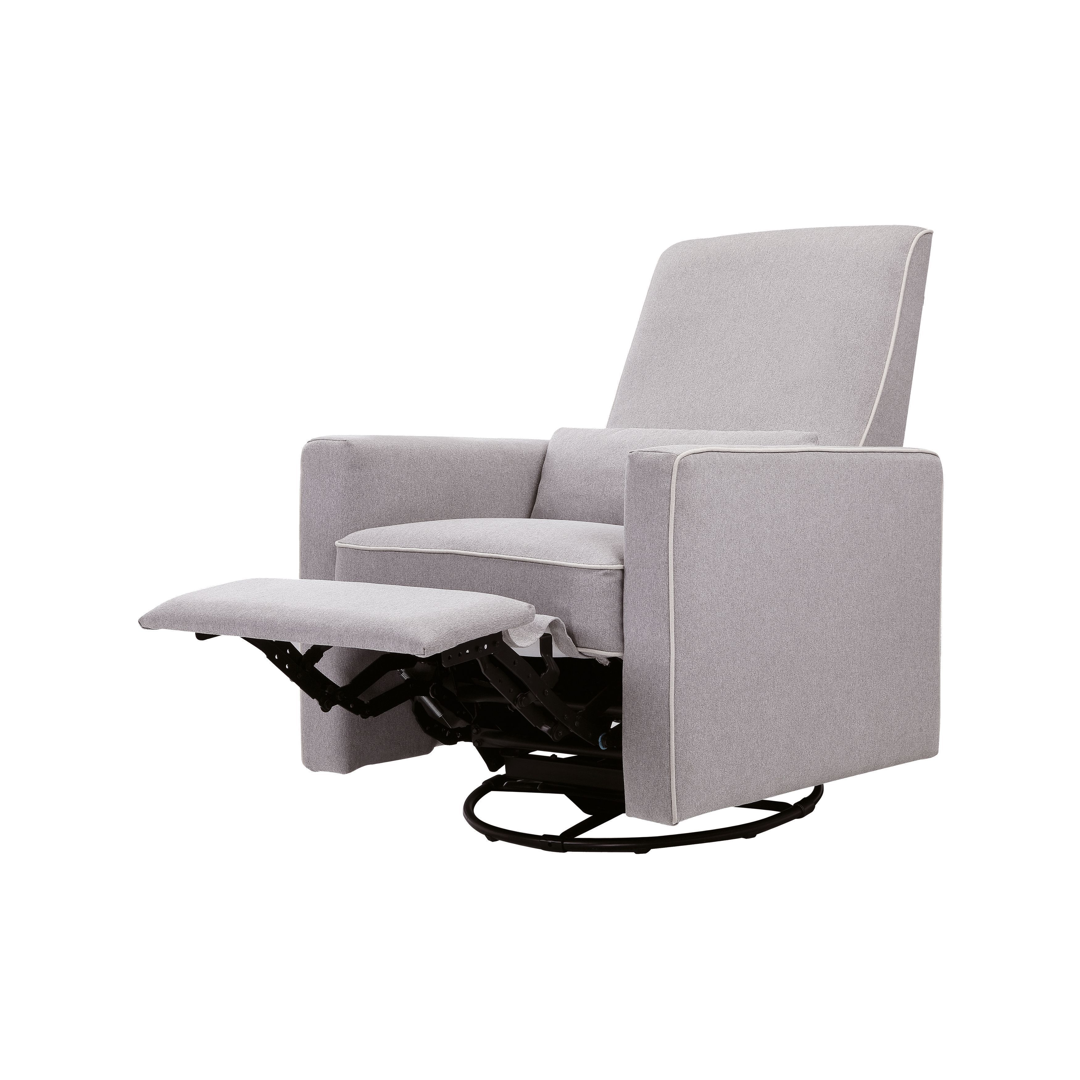 Admirable Davinci Piper All Purpose Upholstered Recliner And Swivel Glider Grey With Machost Co Dining Chair Design Ideas Machostcouk