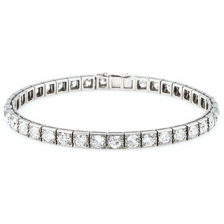 Platinum 12ct TDW Old Mine cut Diamonds Antique Line Bracelet (H-I, SI1-SI2)|https://ak1.ostkcdn.com/images/products/11113340/P18116098.jpg?_ostk_perf_=percv&impolicy=medium