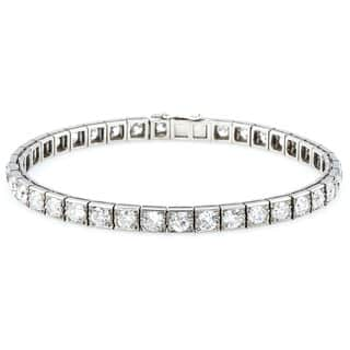 Platinum 12ct TDW Old Mine cut Diamonds Antique Line Bracelet (H-I, SI1-SI2)|https://ak1.ostkcdn.com/images/products/11113340/P18116098.jpg?impolicy=medium