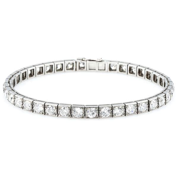 Shop Platinum 12ct TDW Old-Mine Cut Diamonds Antique Line