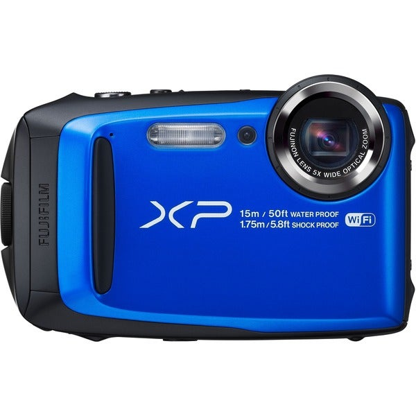Fujifilm FinePix XP90 16.4 Megapixel Compact Camera - Blue