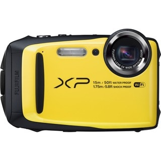 Fujifilm FinePix XP90 16.4 Megapixel Compact Camera - Yellow