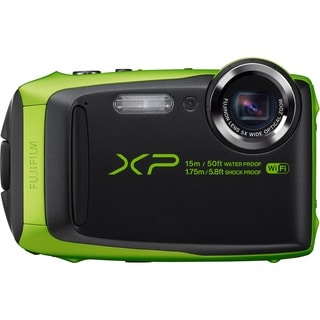 Fujifilm FinePix XP90 16.4 Megapixel Compact Camera - Lime