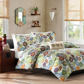 Mi Zone Asha 4-piece King Size Duvet Cover Set (As Is Item)
