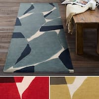 Strick & Bolton Don Hand-tufted Wool Runner Rug - 2'6 x 8'
