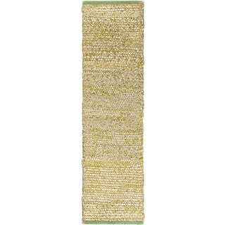 "Hand-Woven CanadaOntario Cotton/ Seagrass Area Rug - 2'6"" x 8'"