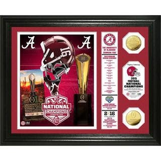 "Alabama 2015 College Football National Champions ""Banner"" Gold Coin Photo Mint