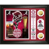"Alabama 2015 College Football National Champions ""Banner"" Gold Coin Photo Mint"