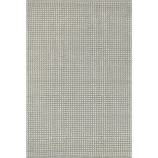 Indoor/ Outdoor Earth Tone Flatweave Pewter Rug (2'3 x 3'9)