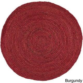 Hand-Woven Camino Jute Rug (5' Round)