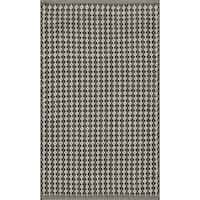 "Indoor/ Outdoor Earth Tone Flatweave Raven Rug (2'3 x 3'9) - 2'3"" x 3'9"""