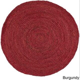 Hand-Woven Camino Jute Rug (3' Round)