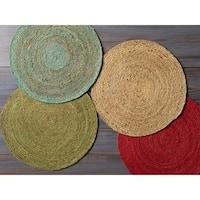 Camino Jute Handmade Area Rug (3' Round)