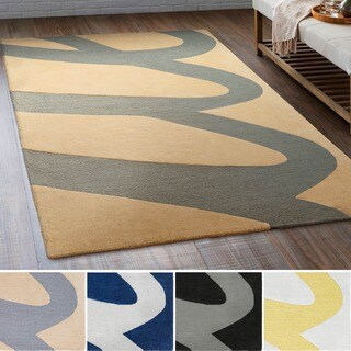 Hand-Tufted Creek Wool Area Rug