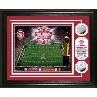 University of Alabama 2015 College Football National Champions Silver Coin Photo Mint