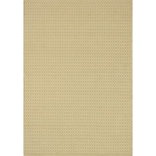 Indoor/ Outdoor Earth Tone Flatweave Goldenrod Rug - 9'3 X 13'