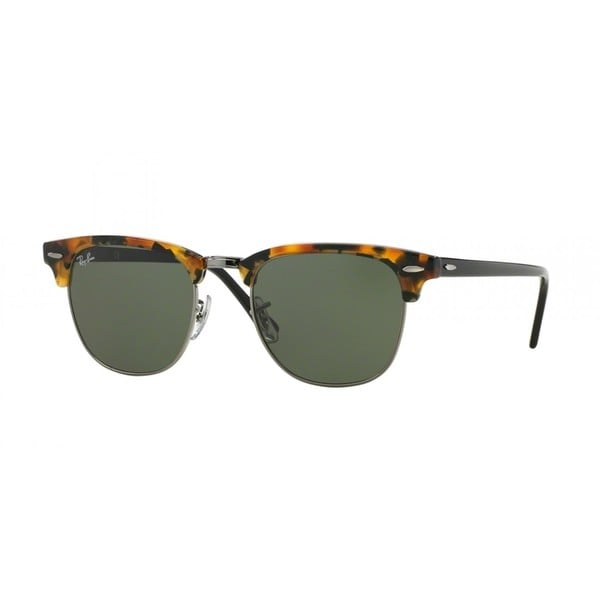 56be5178a3 Ray-Ban RB3016 1157 Unisex Tortoise Black Frame Green Classic 49mm Lens  Sunglasses