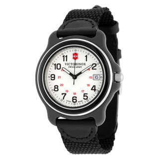 Victorinox Swiss Army Original Men's Black Nylon Strap Watch
