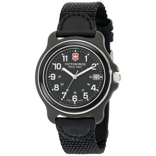 Victorinox Swiss Army Original 249090 Men's All Black Watch