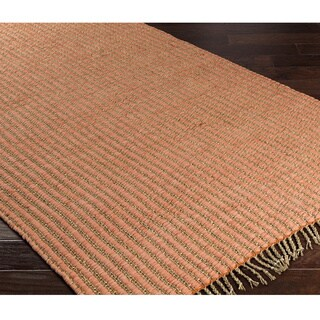 Papilio : Hand-Woven Capitol Polyester/Seagrass Rug (2' x 3')