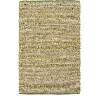 Hand-Woven CanadaOntario Cotton/ Seagrass Rug (2' x 3')