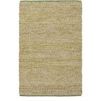 Hand-Woven CanadaOntario Cotton/ Seagrass Area Rug (2' x 3')