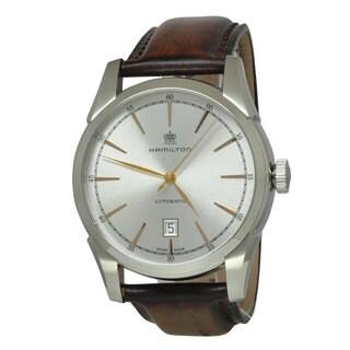 Hamilton Men's H42415551 Spirit of Liberty Silver Watch