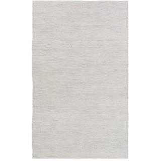 Hand-Woven Beechwood Viscose/Wool Area Rug