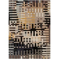 Hand-Knotted Elphinstone New Zealand Wool Area Rug - 9' x 13'